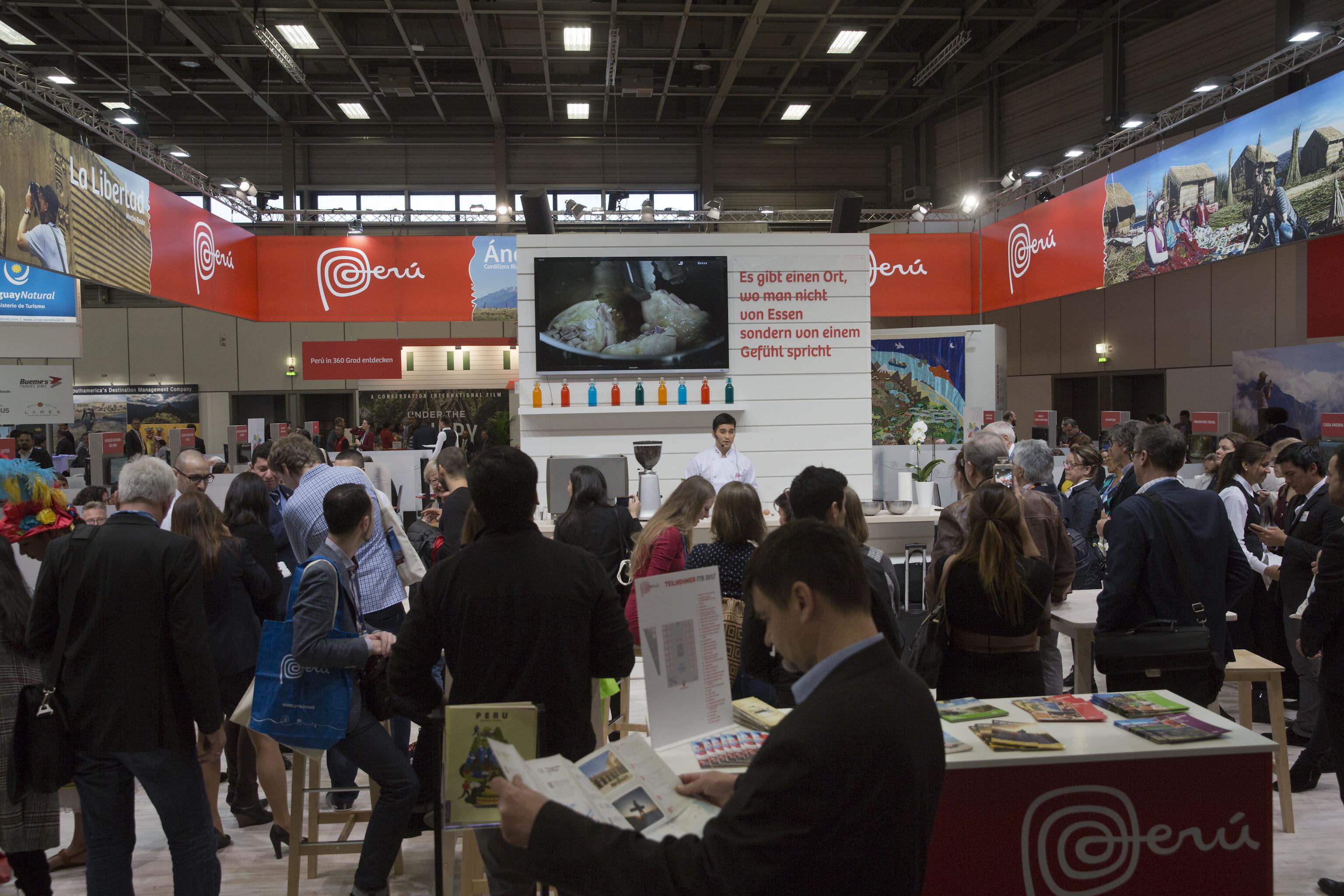 ITB2 - Peruvian presence impacted at the ITB Berlin fair
